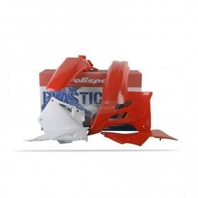 KIT DE PLASTICOS MX / ENDURO GAS - GAS (2001 - 2006) ROJO