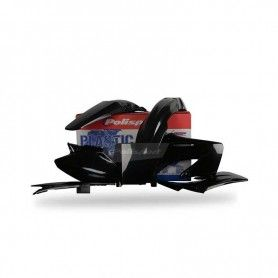 KIT DE PLASTICOS MX HONDA CR - 125 / 250 (2004 - 2007) NEGRO