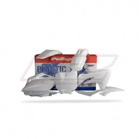 KIT DE PLASTICOS MX HONDA CRF - 150R (2007 - 2015) BLANCO