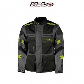 CHAQUETA HEBO ENDURO-CROSS OVER AMARILLO FLUOR/NEGRO