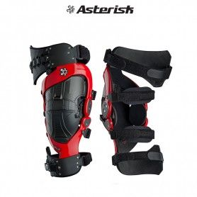RODILLERAS ARTICULADAS ASTERISK CELL 2018 (LEFT/RIGHT) ROJO