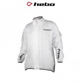 CHUBASQUERO IMPERMEABLE HEBO TRANSPARENTE (ENDURO-CROSS)