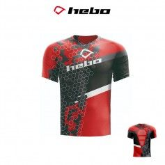 CAMISETA HEBO AM REPLICA ROJO