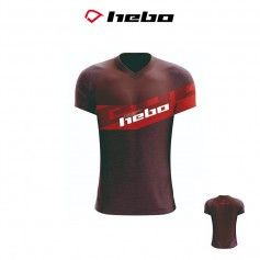 CAMISETA HEBO FUSION JUNIOR ROJO