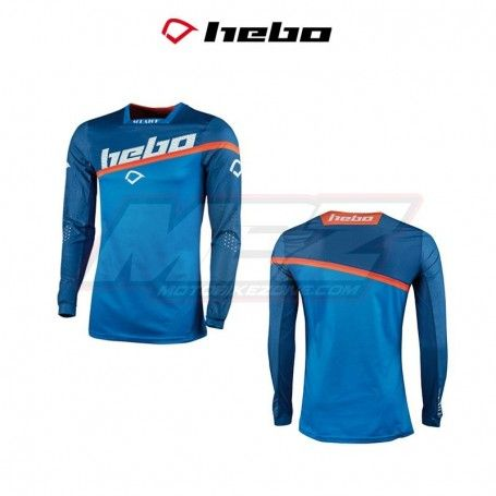 CAMISETA HEBO MX SCRATCH AZUL
