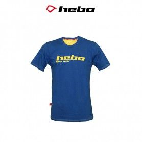 CAMISETA HEBO RACE WEAR AZUL