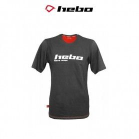 CAMISETA HEBO RACE WEAR GRIS
