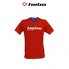 CAMISETA HEBO RACE WEAR ROJO