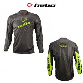 CAMISETA HEBO TRIAL TECH AMARILLO FLUOR