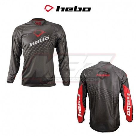 CAMISETA HEBO TRIAL TECH NEGRO