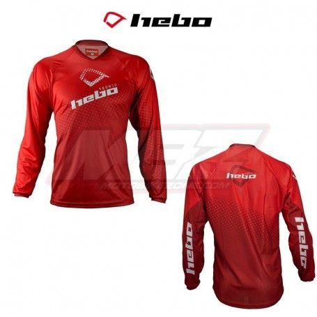 CAMISETA HEBO TRIAL TECH ROJO