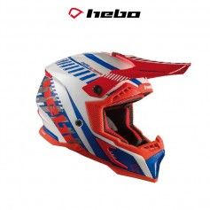 CASCO HEBO MX STRATOS FIBRA BLANCO