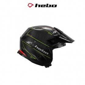 CASCO HEBO TRIAL ZONE 4 CARBOTECH AMARILLO FLUOR