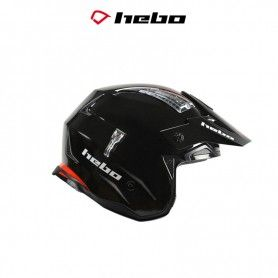 CASCO HEBO TRIAL ZONE 4 2020 MONOCOLOR NEGRO