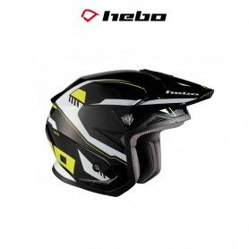 CASCO HEBO TRIAL ZONE 5 PURSUIT AMARILLO FLUOR