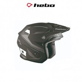 CASCO HEBO TRIAL ZONE 5 PURSUIT NEGRO