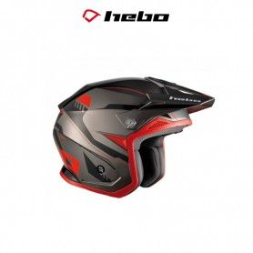 CASCO HEBO TRIAL ZONE 5 PURSUIT ROJO