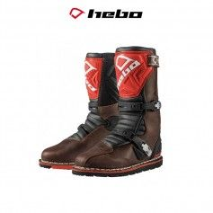 BOTAS TRIAL TECHNICAL 2.0 LEATHER NATURAL/ROJO