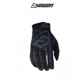 GUANTES ANSWER AR1 ANTRACITA / NEGRO