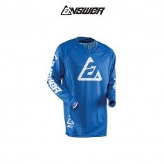 CAMISETA ANSWER ELITE SOLID AZUL