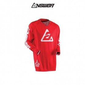 CAMISETA ANSWER ELITE SOLID ROJO
