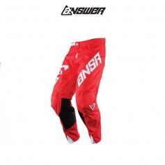 PANTALÓN ANSWER ELITE SOLID ROJO