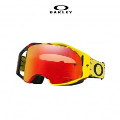 GAFAS OAKLEY AIRBRAKE HIGH VOLTAGE AMARILLO/ROJO, LENTE PRIZM TORCH